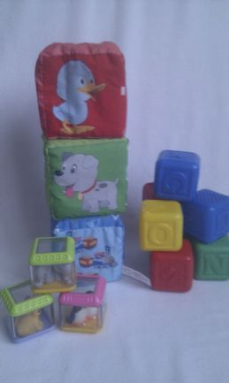 Adorable My 1st Baby Bundle of Baby Stacking Blocks